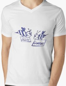Community Gambino (white) Mens V-Neck T-Shirt