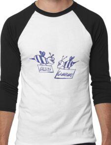 Community Gambino (grey) Men's Baseball ¾ T-Shirt