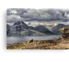 Elgol Isle of Skye Canvas Print