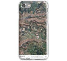 USGS Topo Map Washington State WA Cahill Mountain 20110421 TM iPhone Case/Skin