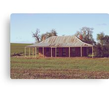 Old Coach House 1888 - Wheatbelt Western Australia Canvas Print