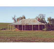 Old Coach House 1888 - Wheatbelt Western Australia Photographic Print
