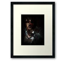 Smokey Vampire Framed Print