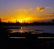 Wynnum Sunset by Wayne  Nixon