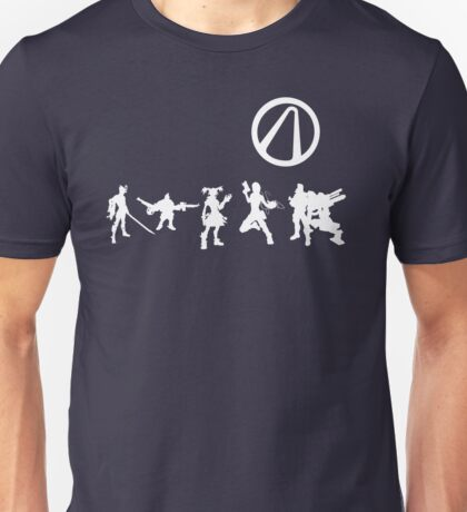 Borderlands Silhouette Unisex T-Shirt