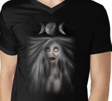 Triple Moon Goddess Mens V-Neck T-Shirt