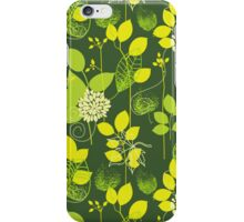 Foliage Lemon & Lime [iPhone / iPod Case and Print] iPhone Case/Skin