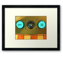 Arcade Game Framed Print