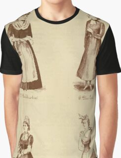 Fancy dresses described or What to wear at fancy balls by Ardern Holt 044 Balchriolie Blue Coat Breton Carrier Pigeon Graphic T-Shirt