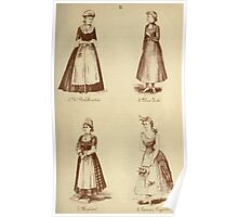 Fancy dresses described or What to wear at fancy balls by Ardern Holt 044 Balchriolie Blue Coat Breton Carrier Pigeon Poster