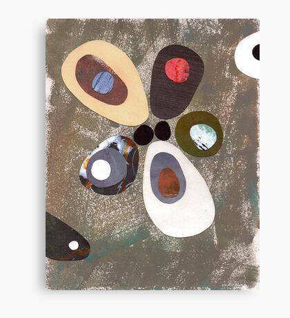 Eames era mid century design abstract Canvas Print