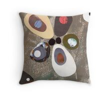 Eames era mid century design abstract Throw Pillow