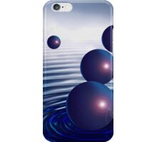 Dreamscape Blue Bubbles iPhone Case/Skin