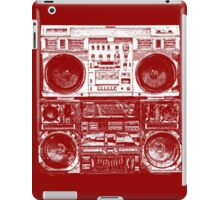 Boomboxes Art by Bill Tracy iPad Case/Skin