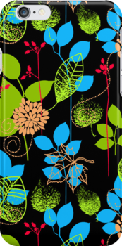 Foliage RGB [iPhone / iPod Case and Print] by Damienne Bingham