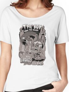 Boy from the sewer with snakes for eyes Women's Relaxed Fit T-Shirt
