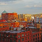 downtown Boston by bartfrancois