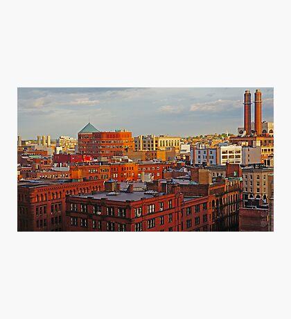 downtown Boston Photographic Print