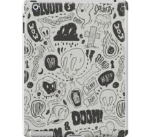 Gloom & Doom pattern iPad Case/Skin