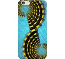 Gold Reduction Spiraled iP4 iPhone Case/Skin