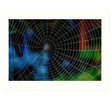 Spider Web. Art Print