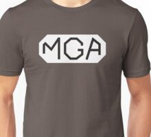 Classic MG MGA lettering emblem Unisex T-Shirt