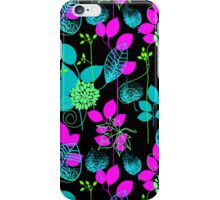 Foliage Fuschia & Teal [iPhone / iPod Case and Print] iPhone Case/Skin