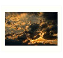 Cloud 20120211-30 Art Print