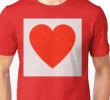 Heart Mosaic Squares Unisex T-Shirt