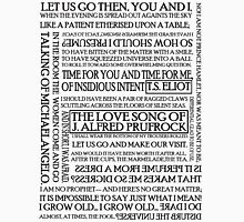 The Love Song of J. Alfred Prufrock Unisex T-Shirt