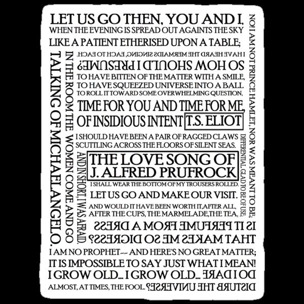 an overview of the love song of j alfred prufrock The love song of j alfred prufrock s'io credesse che mia risposta fosse a persona che mai tornasse al mondo, questa fiamma staria senza piu scosse ma percioche giammai di questo fondo non torno vivo.