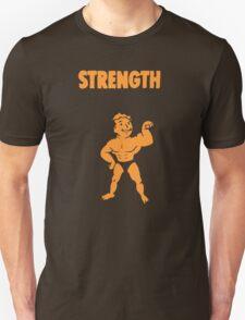 Fallout - S.P.E.C.I.A.L. Strength orange T-Shirt