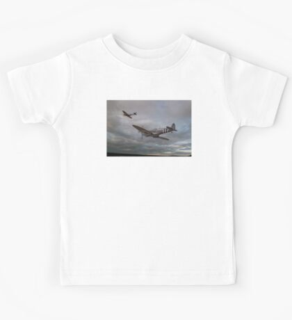 126 Squadron Spitfires Kids Tee