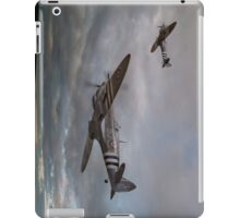 126 Squadron Spitfires iPad Case/Skin