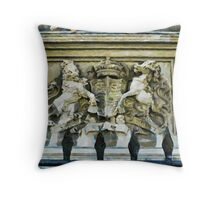The Royal Crest Throw Pillow