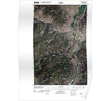 USGS Topo Map Washington State WA Loomis 20110503 TM Poster