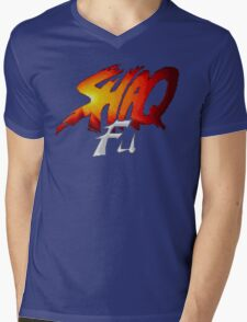 Shaq Fu Mens V-Neck T-Shirt