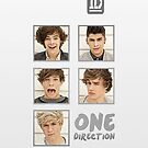 One Direction - Up All Night: iPhone & iPod Touch Case Design by Creat1ve