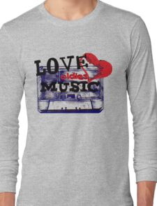 Vintage Love oldies music #3 Long Sleeve T-Shirt