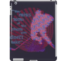 Take your shots iPad Case/Skin