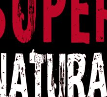Supernatural World dark Sticker