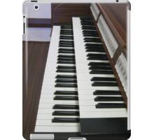 Pulling Out All The Stops - Organ Keyboards and Stops iPad Case/Skin