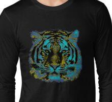 Vintage Tiger Fine Art Long Sleeve T-Shirt