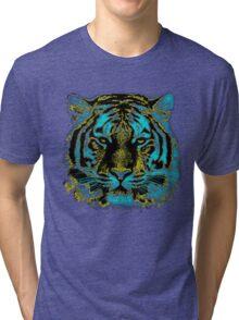 Vintage Tiger Fine Art Tri-blend T-Shirt