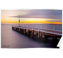 Geelong Waterfront Poster