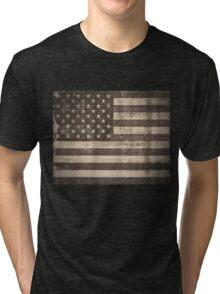 Vintage American Flag Tri-blend T-Shirt
