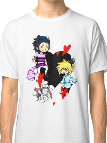 Cloud in wonderland - all characters Classic T-Shirt