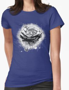 Vintage Black and White Rose Fine Art T-Shirt