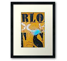 RLO-OCK-TS Framed Print