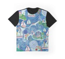 Dream Boats Graphic T-Shirt
